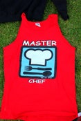 Image of RED MASTER CHEF TANK TOP