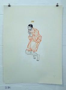 Image of Rue Five- Jackie Paper- Team Recoat Screen Print