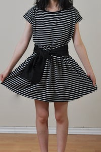 Image of Stripe Knit Dress