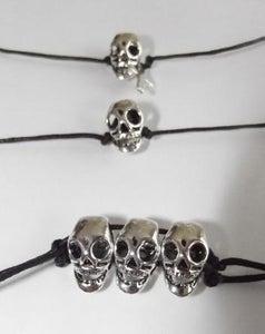 Image of Skull Charm Bracelet