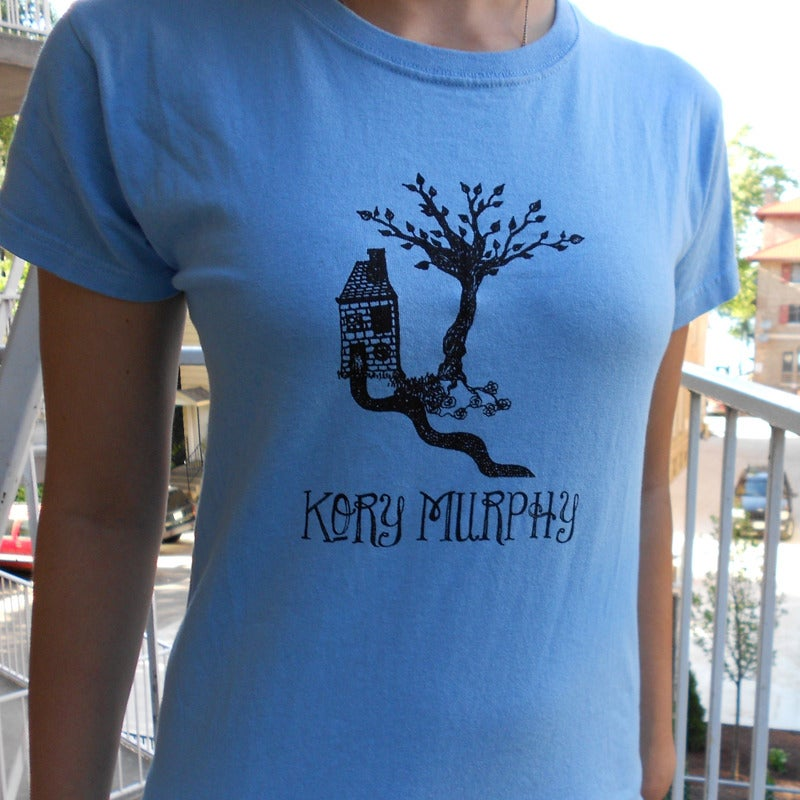 Image of Kory Murphy Shirt - Girls/Blue
