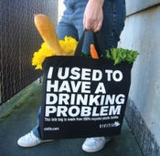 Image of I Used to Have a Drinking Problem Tote Bag