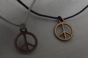 Image of Bronze Peace Charm Bracelets
