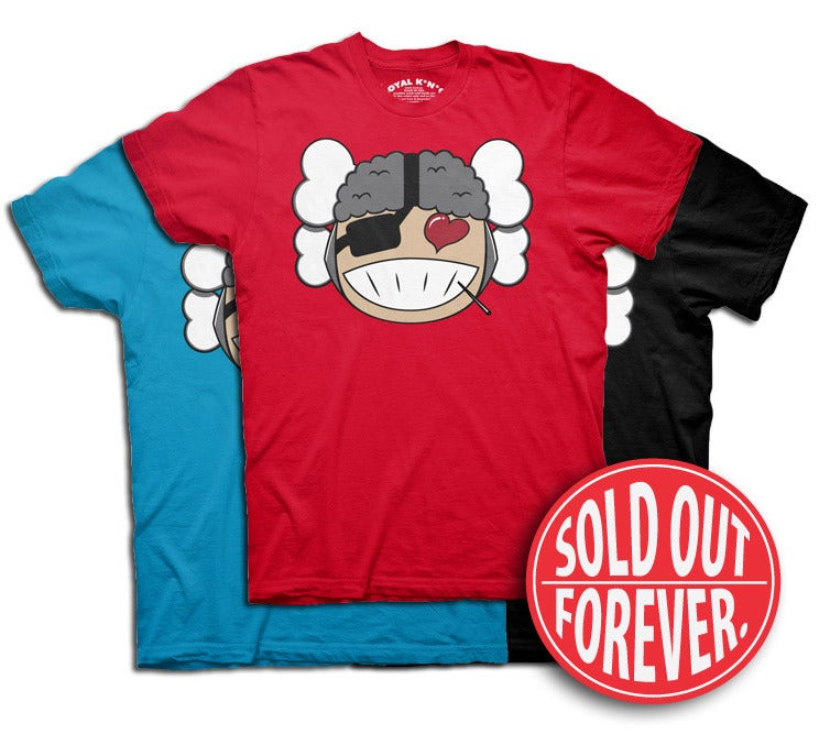 Image of Atama Love (Red/Teal/Black)