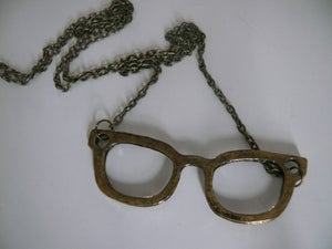 Image of Glasses Pendant Necklace