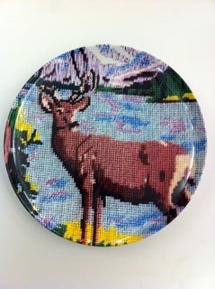 Image of deer plate