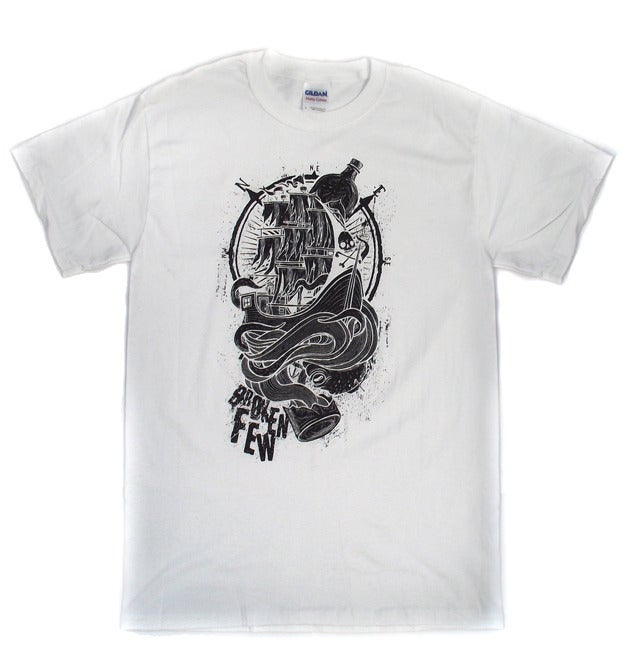 Image of Ship Shirt - White/Black