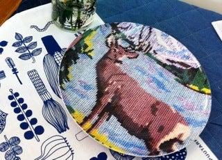 Image of deer plate