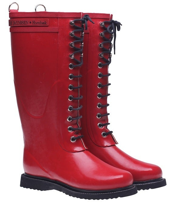 Image of Ilse Jacobsen Rubber Boots - Tall, Red