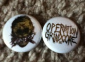 Image of Operation Grindcore Buttons