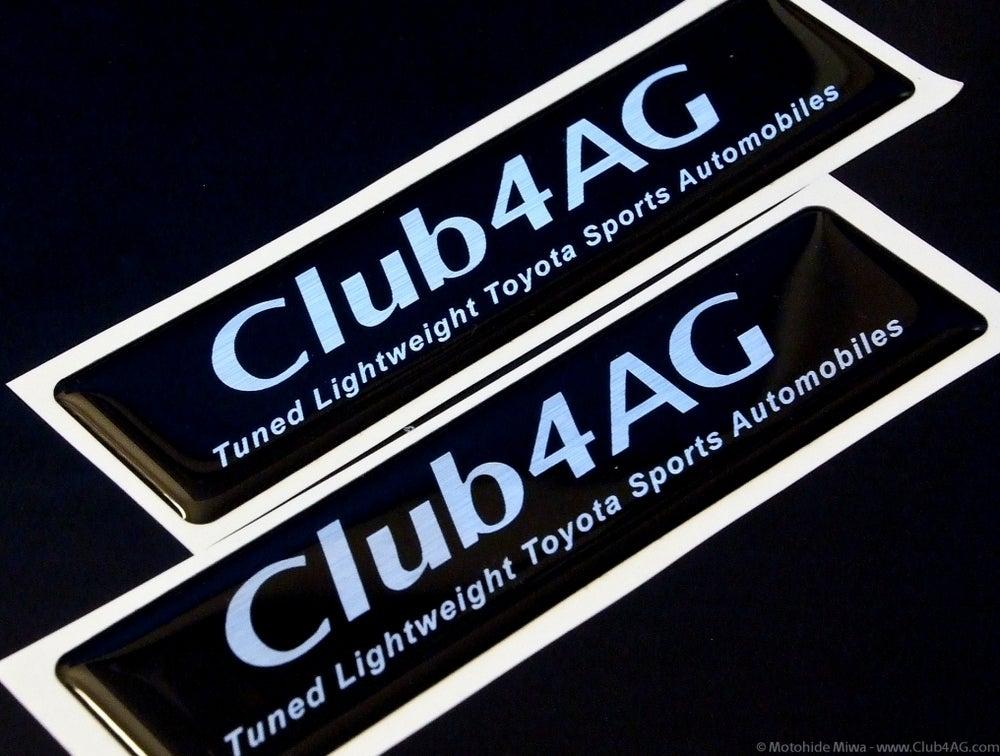 Image of Club4AG Original Automotive Grade Emblems (BLACK)