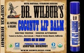 Image of Dr. Wilbur's Coconut Lip Balm