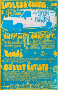 """Image of Special Delivery Poster - 11""""x17"""" Serigraph"""