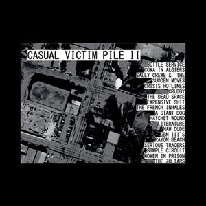 Image of Various Artists - Casual Victim Pile II LP (12XU 028-1)