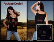 Image of SOLD OUT!! T Shirt + CD Fan Starter package deal