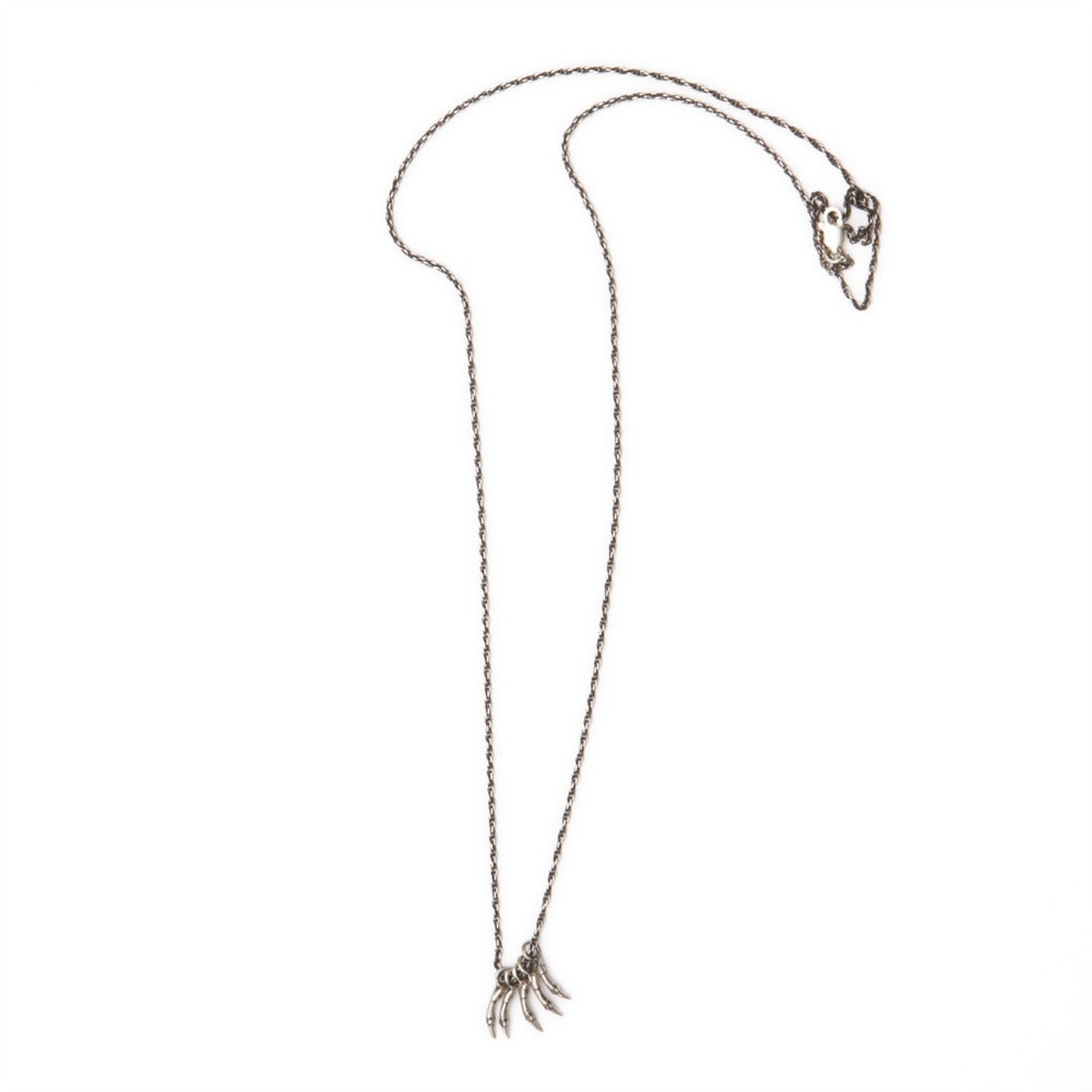 "Image of five small branches on 22"" rope chain (P1022)"