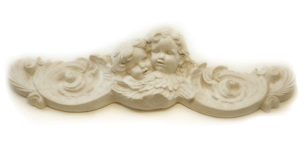 Image of Bassorilievo in gesso con angeli