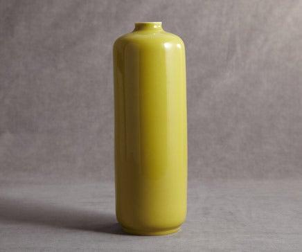 Image of Chartreuse Porcelain Glazed Vase BC-036