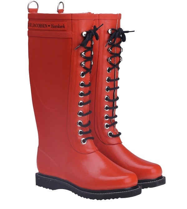 Image of Ilse Jacobsen Rubber Boots - Tall, Orange