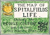 Image of The Map of Spitalfields Life (Published by Herb Lester)
