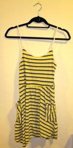 Image of Forever 21 Asymmetrical Stripe Dress