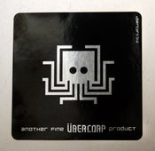 Image of Übercorp Product Stickers - set of 2