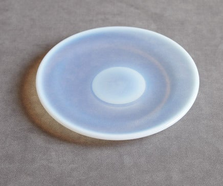 Image of Vintage Opaline Round Glass Dish BC-095