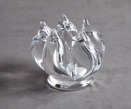 Image of Vintage Crystal Tulip Candleholder BC-099