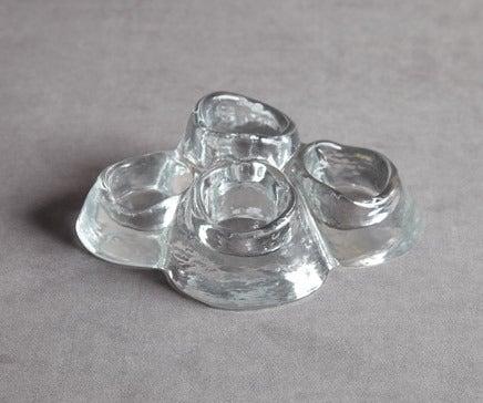 Image of Vintage Glass Votive Holder BC-102