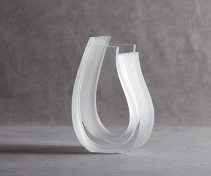 Image of Lucite Vase by La Plage BC-122