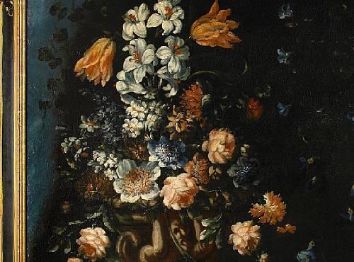 Image of Antique 17C Oil Painting Circle of Andrea Scacciati