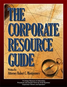 Image of The Corporate Resource Guide (E-Book)