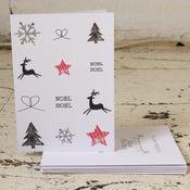 Image of Noel Noel Pack of Five Christmas Cards