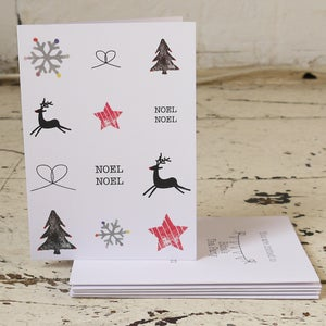 Image of Noel Noel Pack of Five Christmas Cards