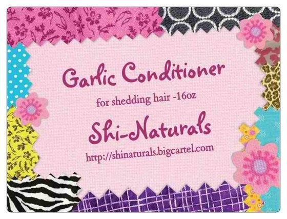 Image of Garlic Conditioner For Shedding