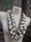 Image of Chunky Pearl Necklace