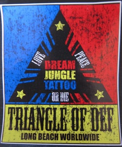 Image of Triangle of Def Sticker