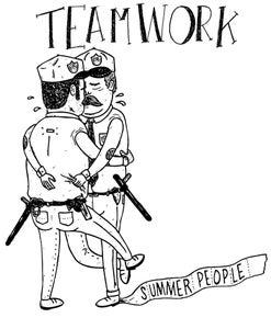 "Image of Summer People ""Cop"" Tee"