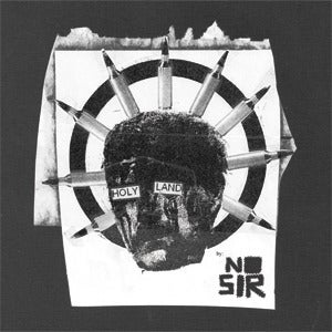 """Image of No Sir - Holy Land 7""""EP Alone"""