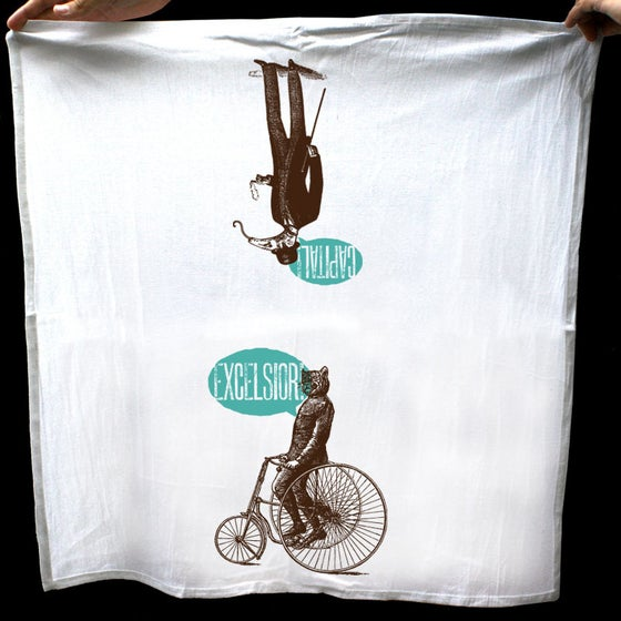 Image of A Very Jaunty Tea Towel