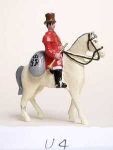 Image of 1800 Circa. Mounted Rural Letter Carrier (U4)
