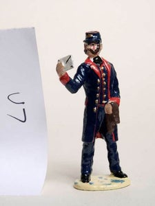 Image of 1875 Postman with letter (U7)