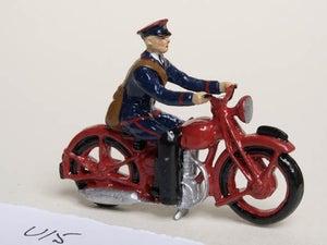 Image of 1934 Postman Motorcyclist (U15)