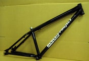 Image of Nemesis Project Secret Agent 4x MTB frame gloss black