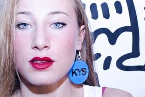 Image of KYS BLUE EARRING