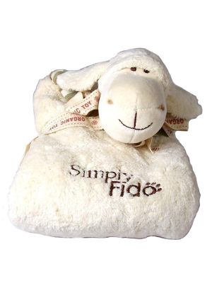 Image of Lolly Lamb Organic Puppy Blanket**FREE shipping and Bonus toy!