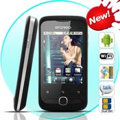 Image of Minimas - Android 2.2 Froyo Smartphone (Dual SIM, WiFi, 2.8 Inch Touchscreen)