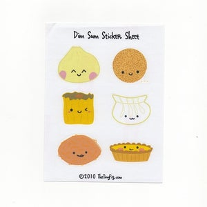 Image of Dim Sum Sticker Sheet