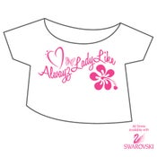 Image of Alwayz Lady Like Cropped Top