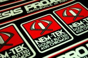 Image of Nemesis Project Nem-Tek printed decal set